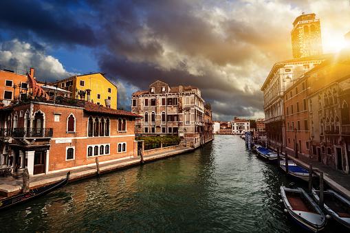 ヴェネツィア夕日