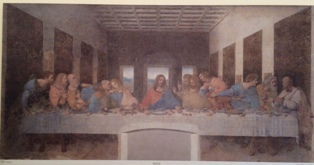 レオナルド・ダ・ヴィンチの『最後の晩餐』