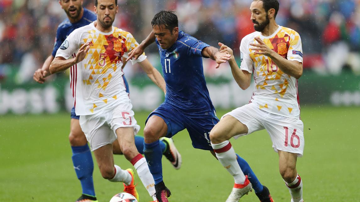 【カルチョ】EURO2016 イタリアvsスペイン 圧巻のプレーをご覧あれ