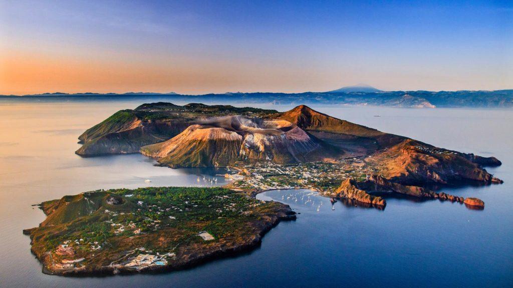 ヴルガーノ島の景色