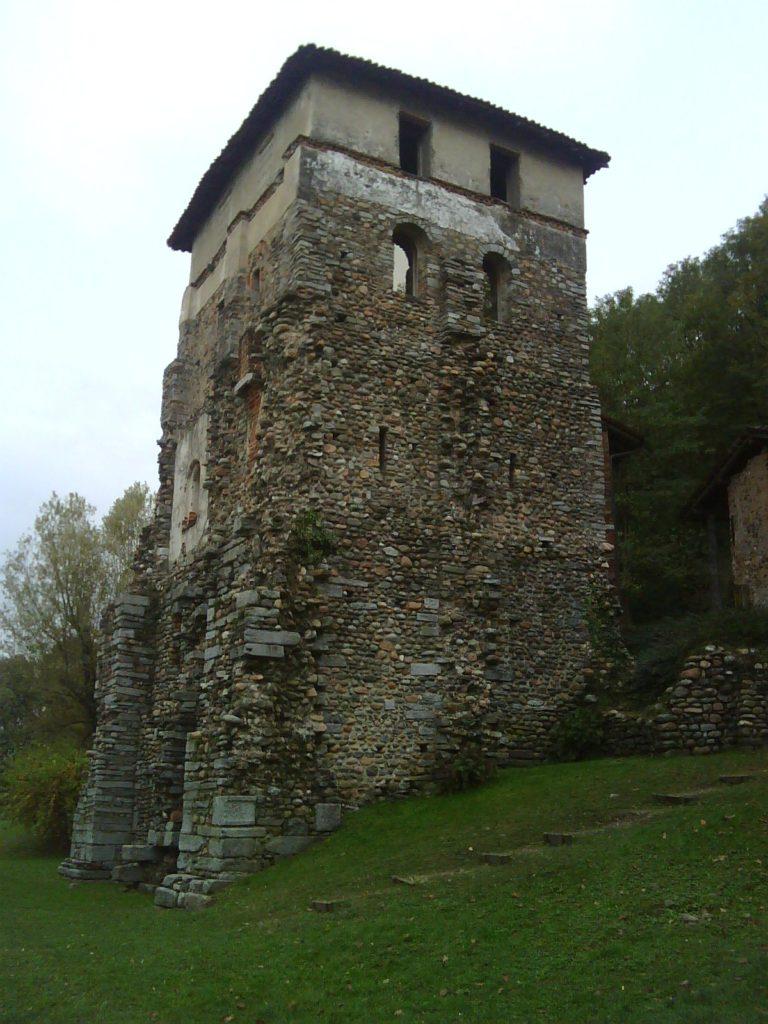 トルバ塔は見張りのために使われた