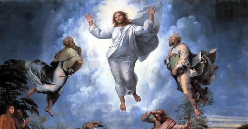ラファエロ キリストの変容