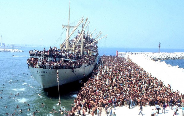 増え続ける移民