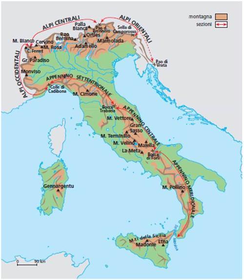 イタリアを縦断するアペニン山脈 http://images.summitpost.org/medium/920181.jpg