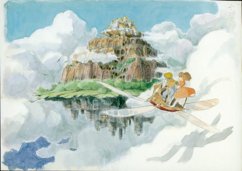 Film Title: Le Château Ambulant.