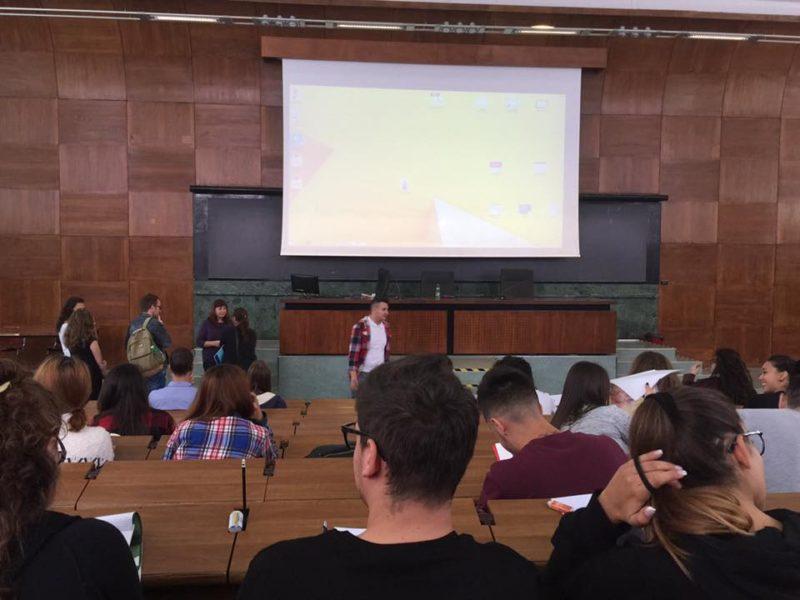 ローマ大学の大講義室