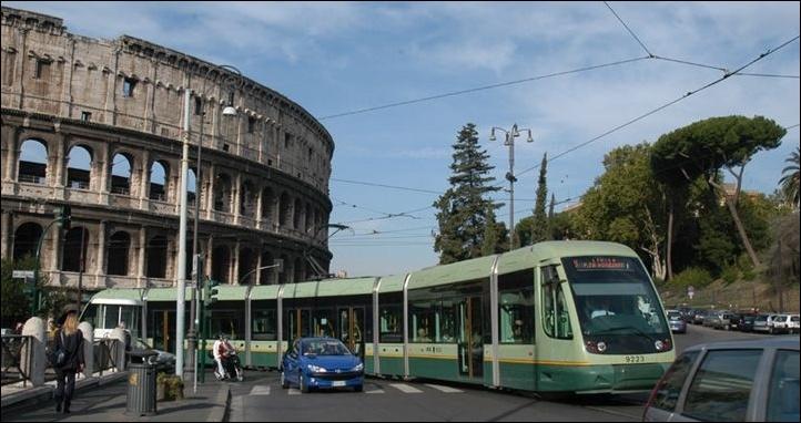ローマのトラム
