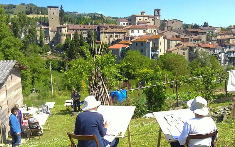 【小さな村の物語 イタリア】第188回 ポルティコ・ディ・ロマーニャ