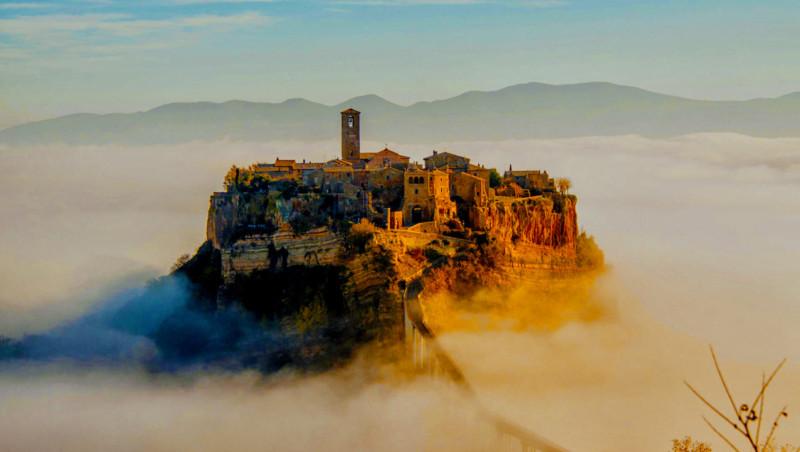 イタリアの天空の城 チヴィタ・ディ・バニョレージョに行ってみた!アクセスや歩いた感想