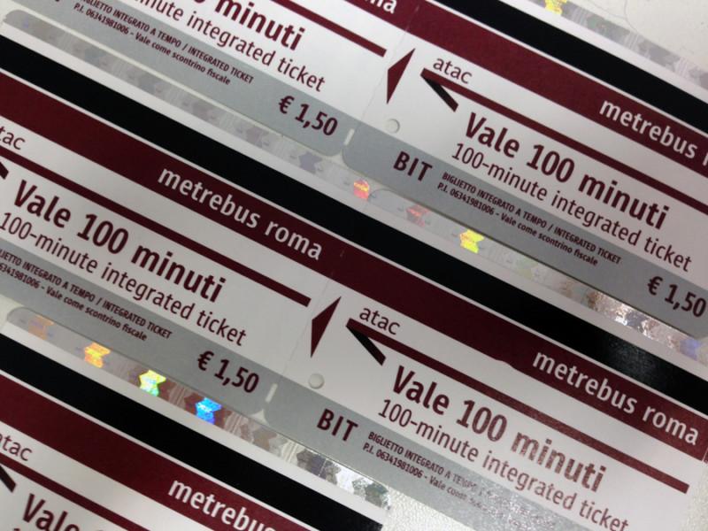 ローマの移動は完璧!ローマの移動手段と定期券の料金・買い方、お得な買い方のコツ