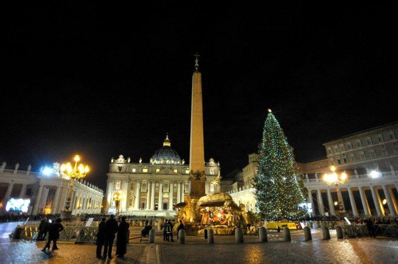 ヴァチカンサンピエトロクリスマス