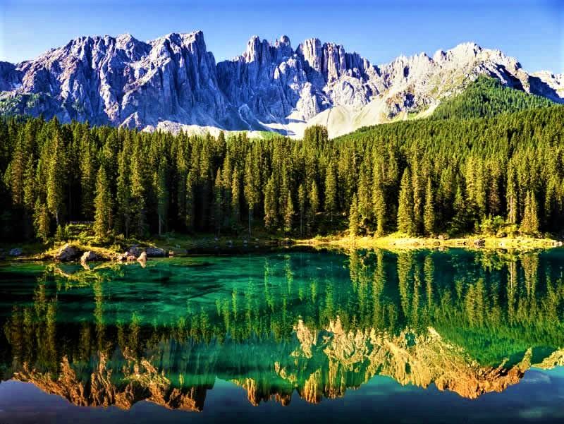 【全20枚】写真で見るイタリアの絶景 秋の極寒トレンティーノ・トヴェル湖