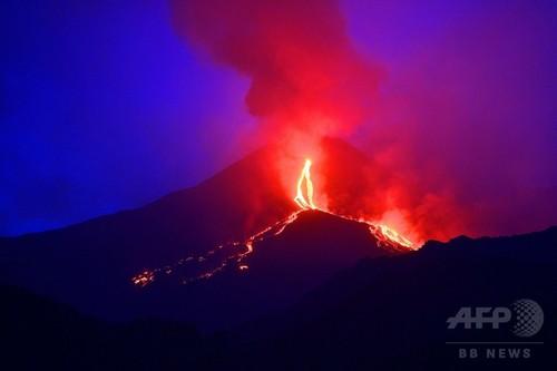 【自然】噴火間近か?ナポリ近郊のフレグレイ平野