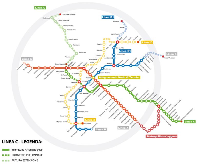 【コラム】6年遅れでごめんね...ローマの未完の地下鉄メトロCがもたらすもの