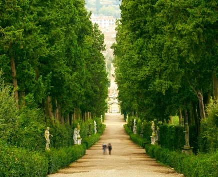 花の都フィレンツェを歩く①~ベルヴェデーレ要塞とボーボリ庭園~