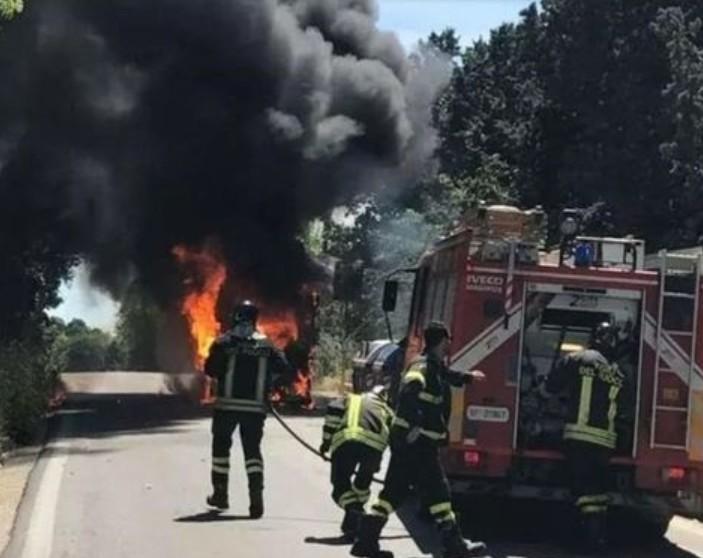 大炎上と事故の嵐!ローマ市営バスで起きた信じられない事件5つ