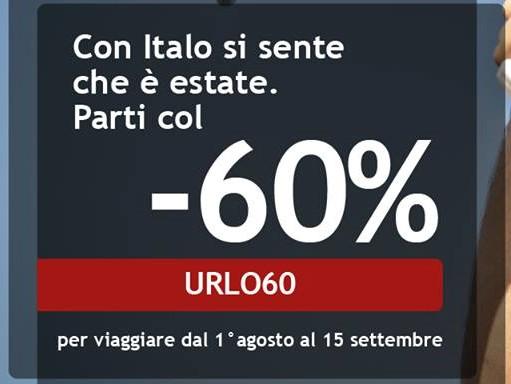 イタリア高速鉄道イタロ(Italo)を30-60%引きクーポンで購入する唯一の方法