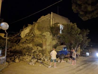 【速報】イタリア南部でM4の地震発生