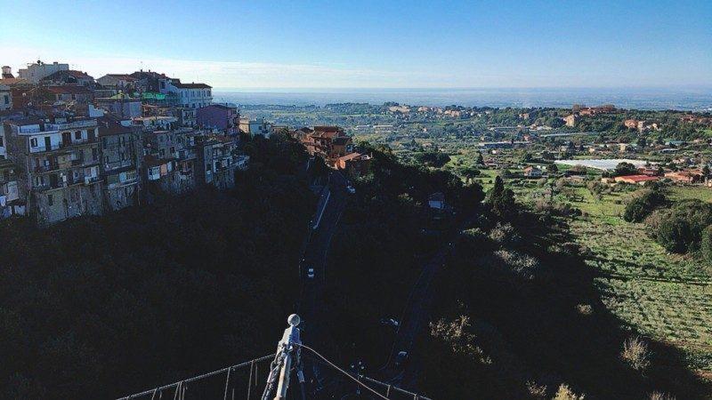 【お散歩メモ】ローマ近郊ポルケッタの街・アリッチャに行って、いっぱい歩いてみた