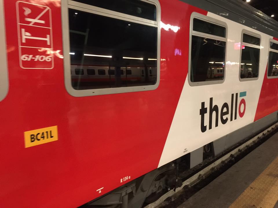 北イタリアとフランスをお得に移動!国際列車テッロThelloに乗ってみよう!