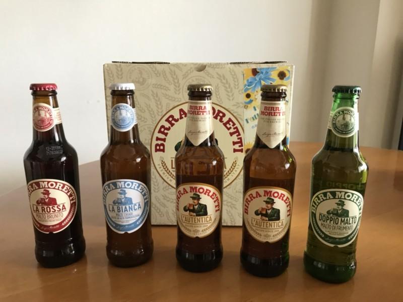 イタリア・ビールの代表!モレッティの4種類のフレーバーを飲み比べ&採点してみた