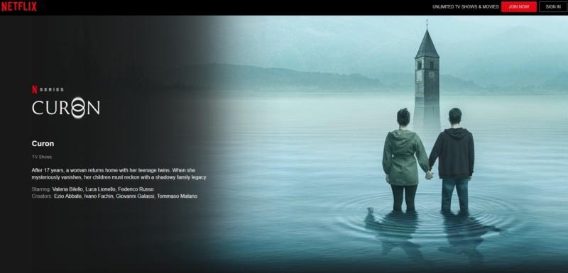 イタリアのNetflix、人工湖に沈んだ実際の町を舞台にしたシリーズ『Curon(クローン)』