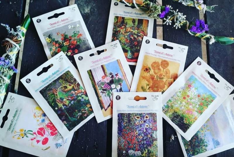 イタリア、家の庭やベランダでモネ、クリムト、マティスの花を育てよう