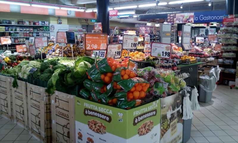 イタリア、コロナ下の食料品購入傾向の変化とは