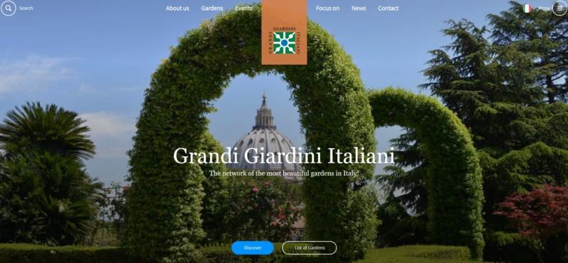 """イタリア中の庭園を巡る""""グランディ・ジャルディーニ・イタリアーニ"""""""
